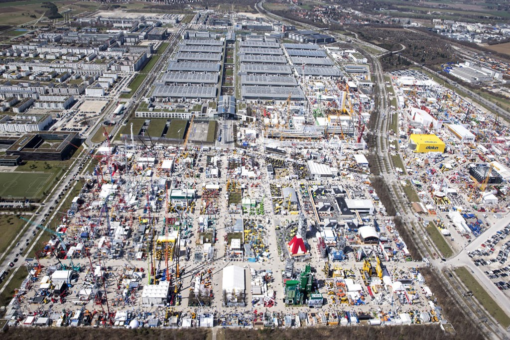Construction Plant Finance View of Bauma 2019